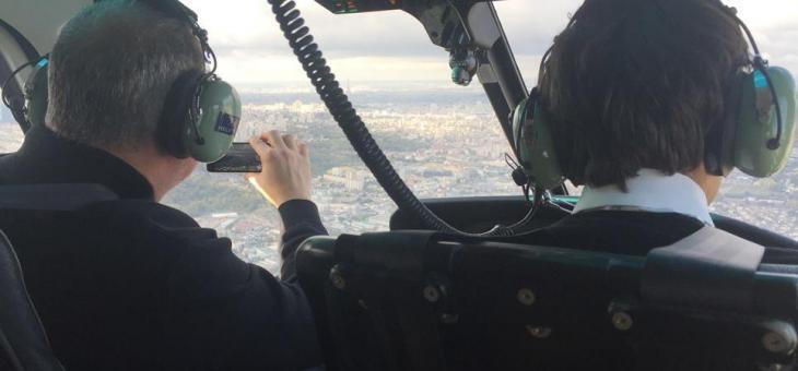 Initiation Helicoptère – Baptême de l'air