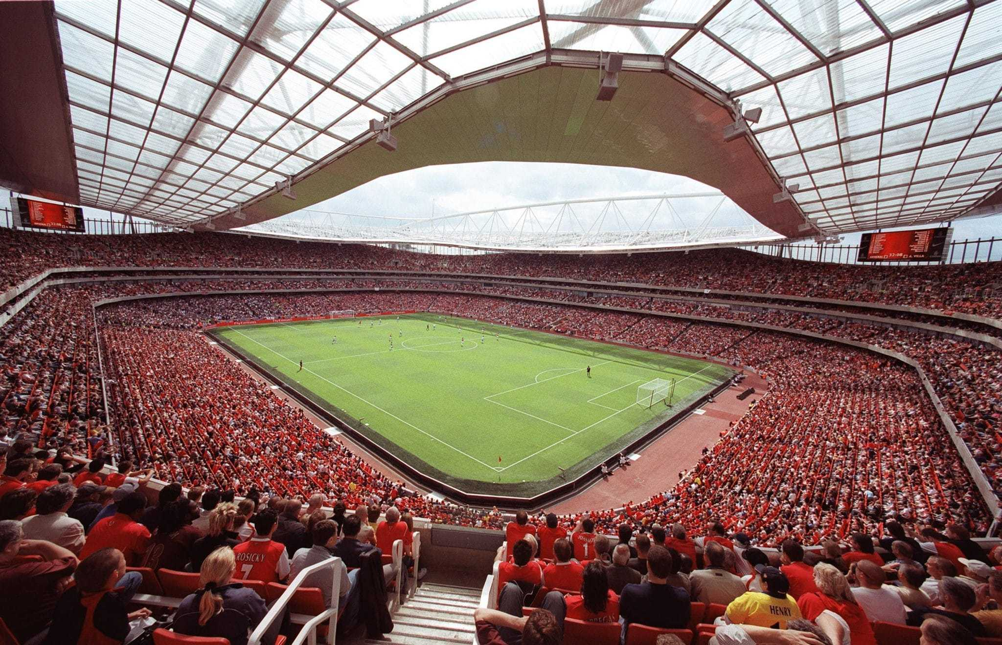 emirate stadium arsenal