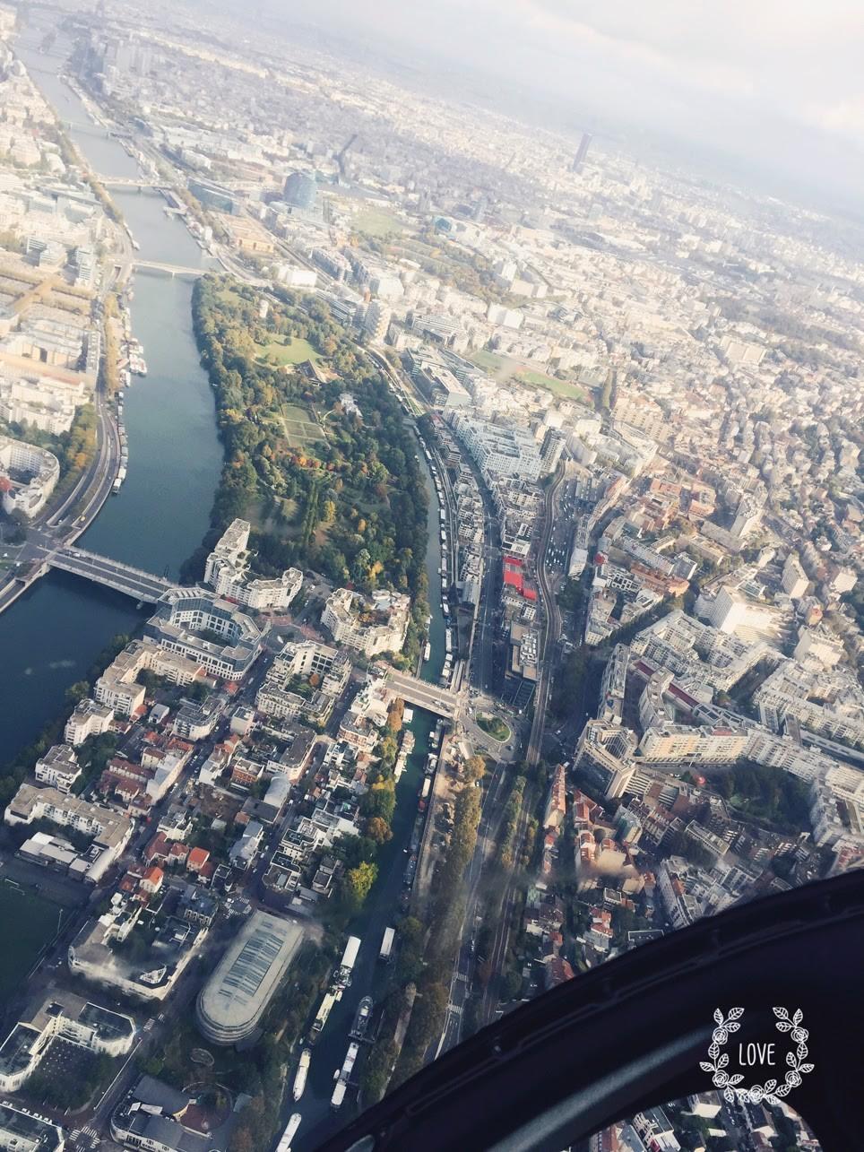 Sortie en hélicoptère pour une activité d'entreprise