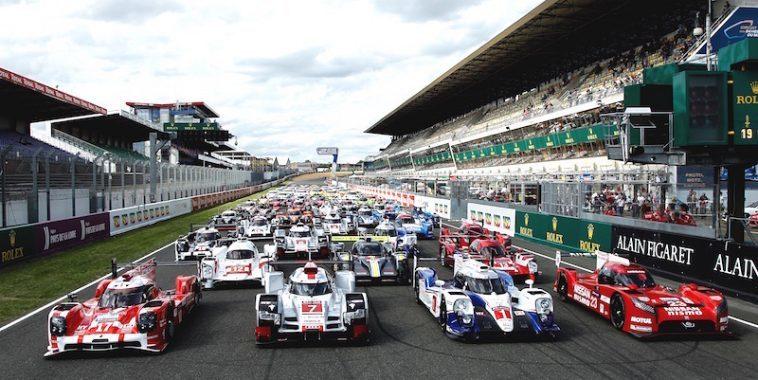 Départ des 24h du Mans, un grand moment !