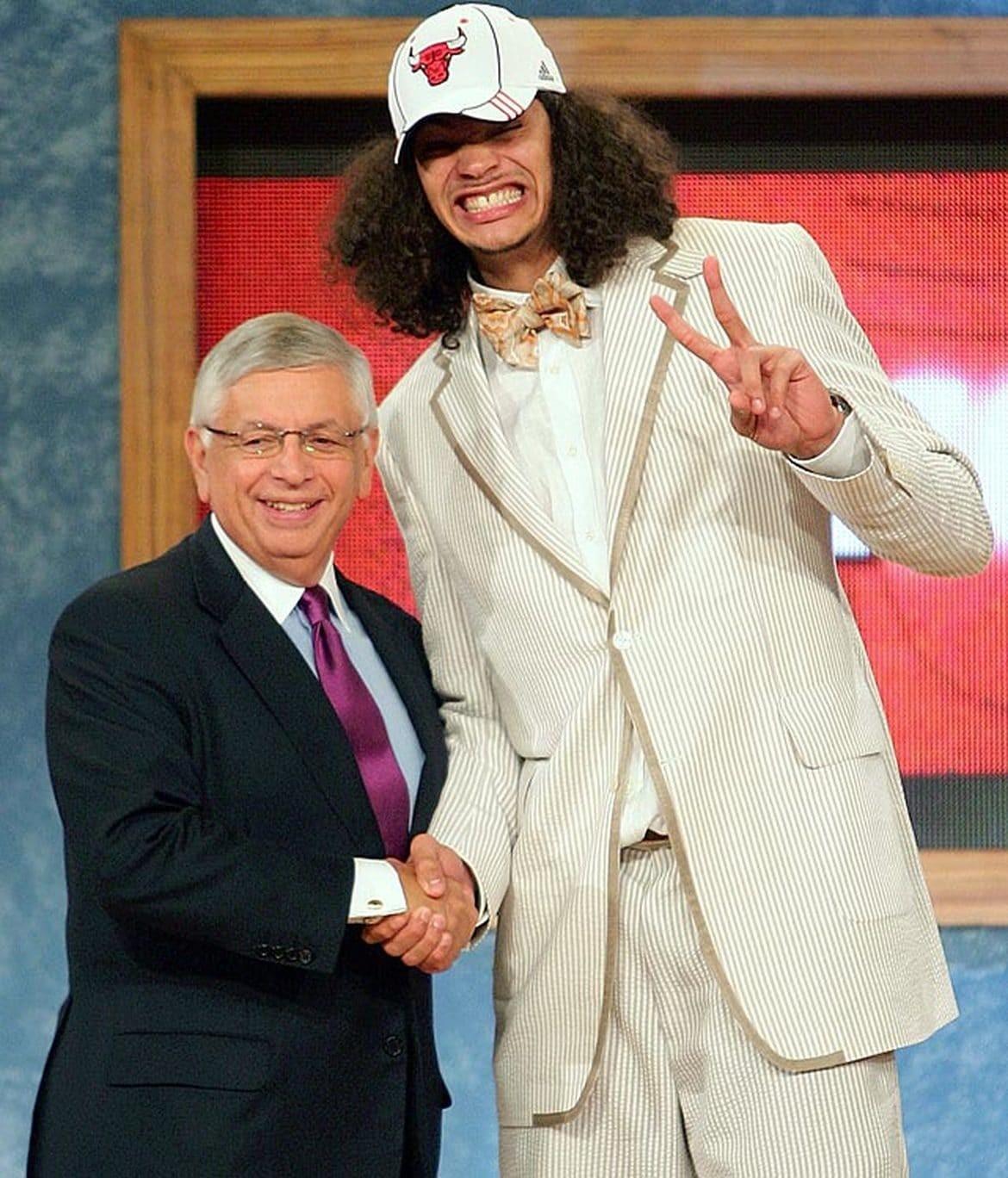 Draft Joachim Noah chez les Bulls