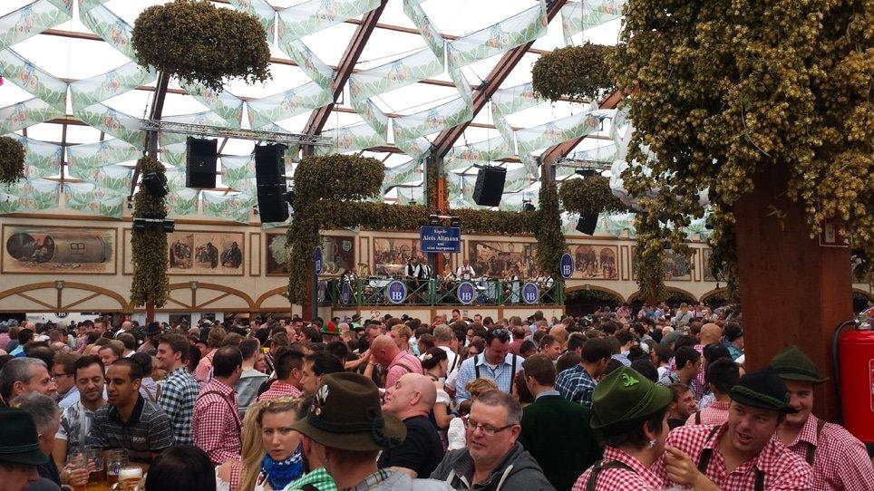 Les chants de l'Oktoberfest à Munich à connaître !