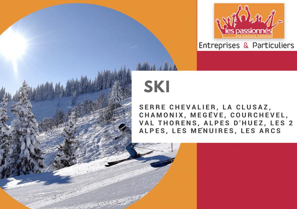 Week-end ski pour entreprises et CE