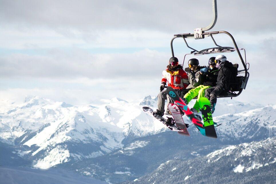 Une réunion d'entreprise au ski avec des activités diverses qui vont plaire à tous !