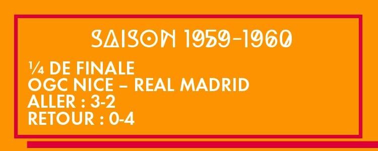 Souvenir, souvenir... La victoire de l'OGC Nice face au Real Madrid, en 1960 !