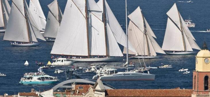 Les voiles de Saint-Tropez – Bateau privatisé